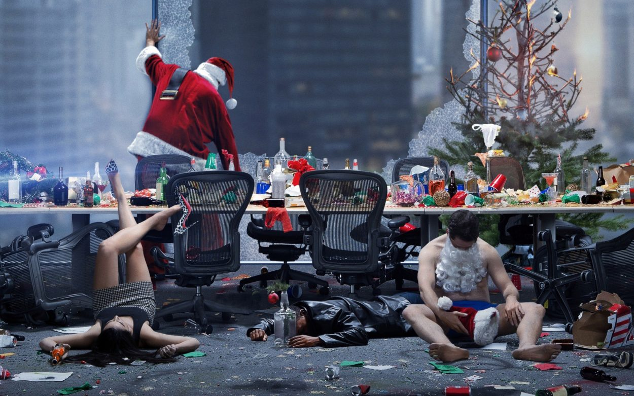 Office Christmas Party Movie 2016 Review