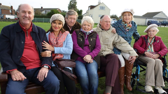 Filming has begun on new BBC One comedy Grey Mates