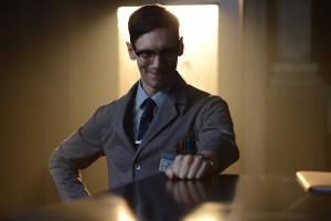 GOTHAM: Nygma (Cory Michael Smith) in the Rise of the Villains: ÒKnock, KnockÓ episode of GOTHAM airing Monday, Sept. 28 (8:00-9:00 PM ET/PT) on FOX. ©2015 Fox Broadcasting Co. Cr: Nicole Rivelli/FOX.