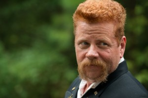 Michael Cudlitz as Abraham - The Walking Dead _ Season 6, Episode 9 - Photo Credit: Gene Page/AMC