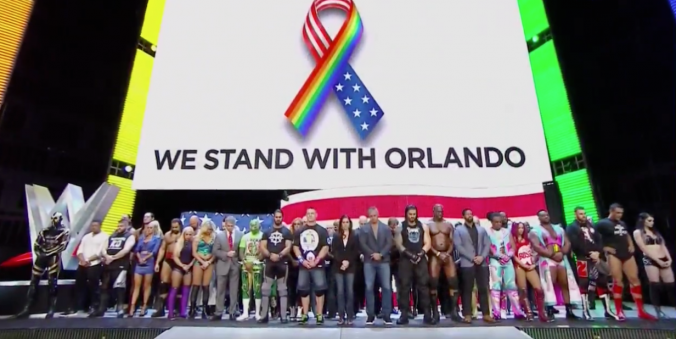 WWE Stand With Orlando