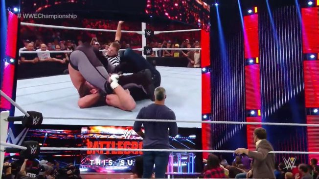 Ambrose and Rollins going through WWE's version of the Karma Sutra