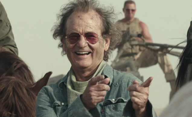 Bill Murray Rock The Kasbah