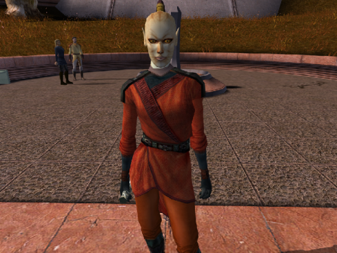 """Juhani In """"Star Wars: Knights Of The Old Republic"""""""