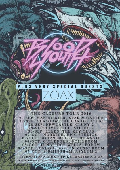 Blood Youth Tour