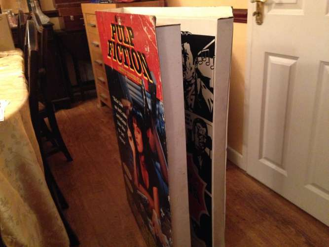 Pulp Fiction Movie Display - Side on