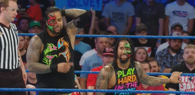 """""""We about to turn heel, ain't we, Uce?"""""""