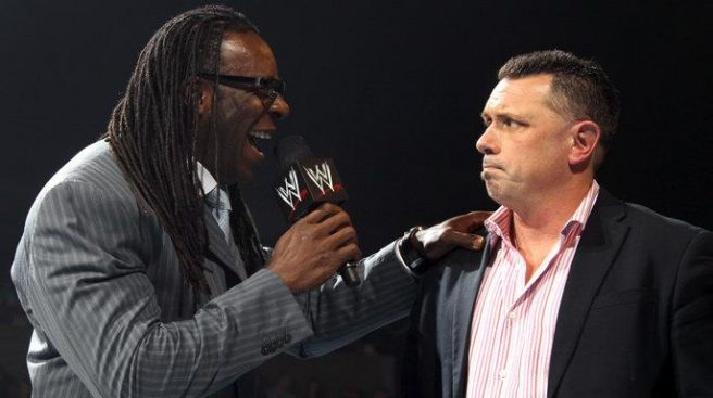 I'd be upset too if I had to work with Booker T // wwe.com