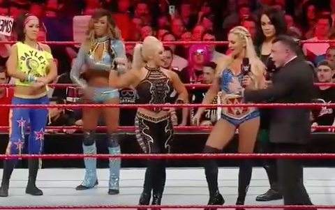 Michael Cole increasing the oestrogen levels in the ring