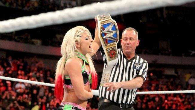 A blissful victory for Alexa // wwe.com