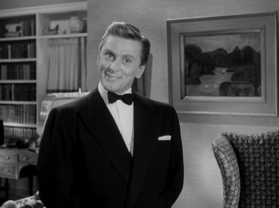 "Kirk Douglas in ""A Letter To Three Wives"""