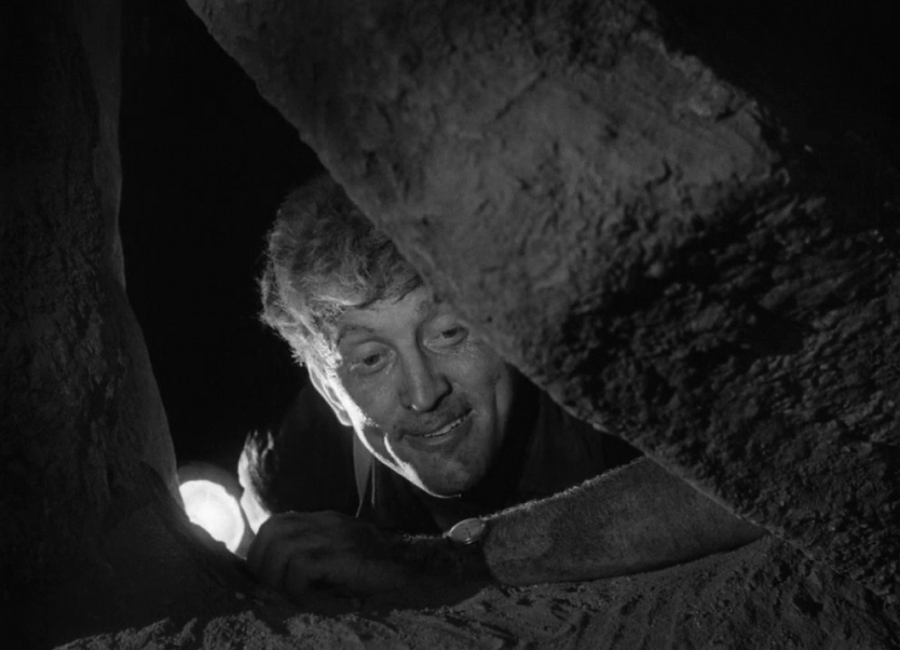 """Kirk Douglas in """"Ace In The Hole"""""""