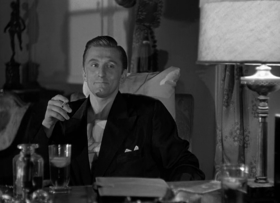 "Kirk Douglas in ""Out Of The Past"""