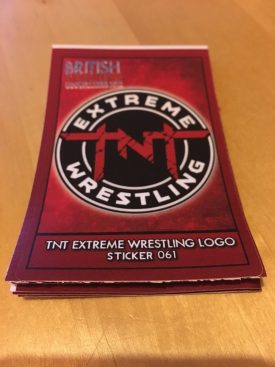 TNT Extreme Wrestling Stickers: Part II
