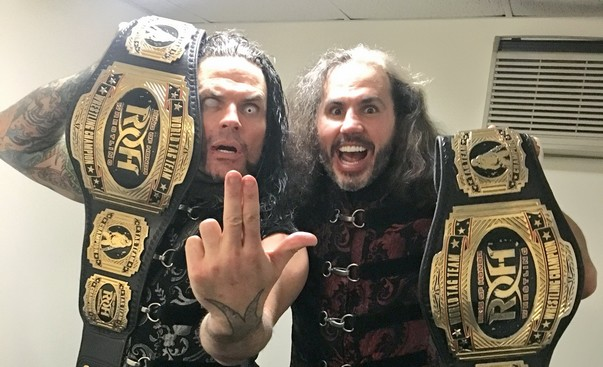The Hardys new ROH Tag Team Champions