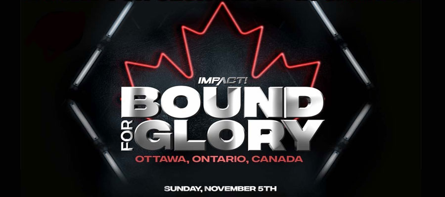 """12 Years of Glory: A Few Facts on IMPACT Wrestling """"Bound For Glory"""""""