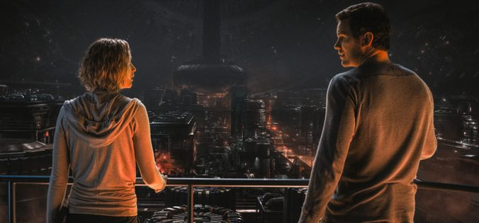 Lawrence and Pratt in Passengers