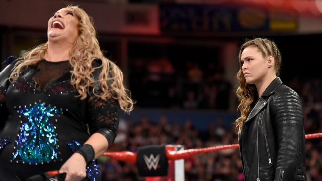 Nia Jax and Ronda Rousey