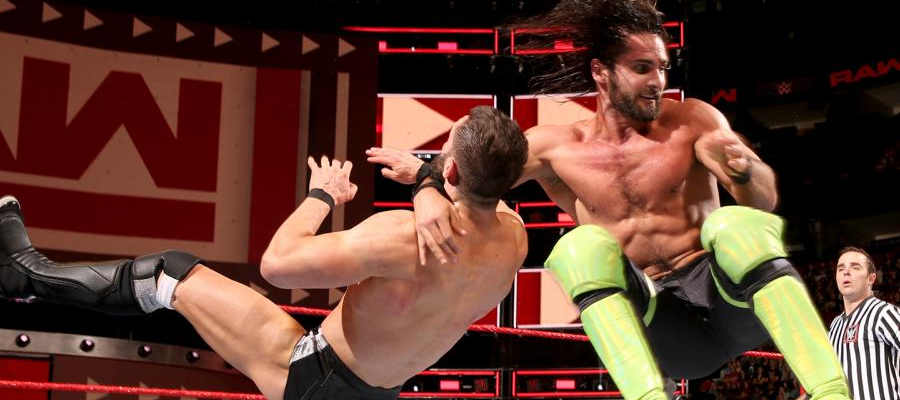 Seth Rollins and Finn Balor