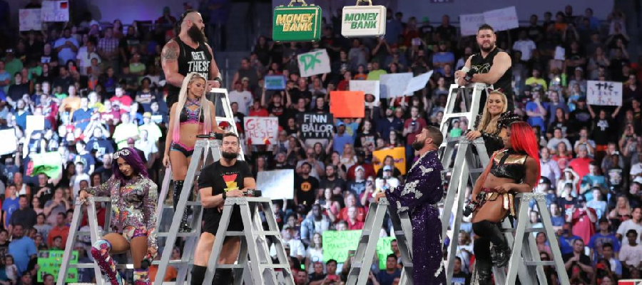 The Money in the Bank participants