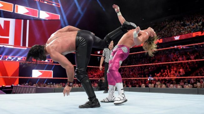 Seth Rollins and Dolph Ziggler