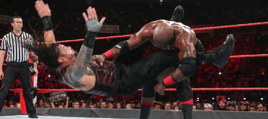 Bobby Lashley slams Roman Reigns