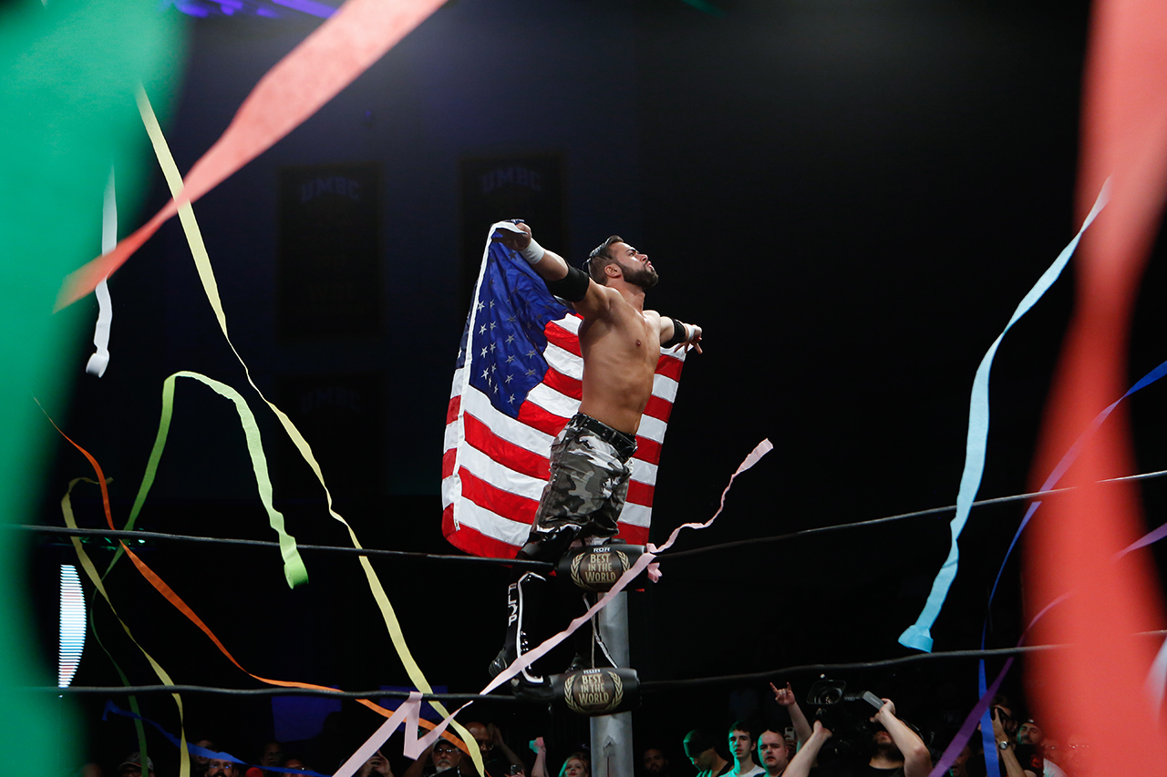 RING OF HONOR/Flip Gordon 15 Photo Credit RING OF HONOR / Zia Hiltey