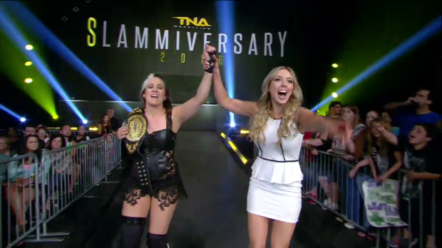 Sienna and Allie Slammiversary 2016