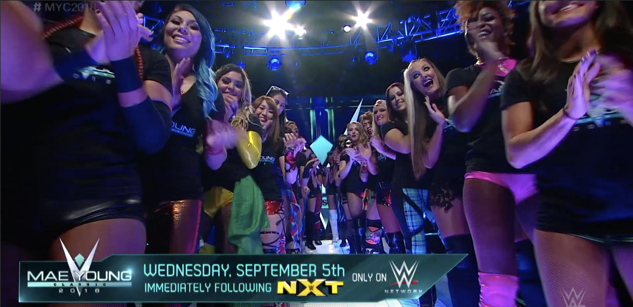 Mae Young Classic Parade of Champions 2018