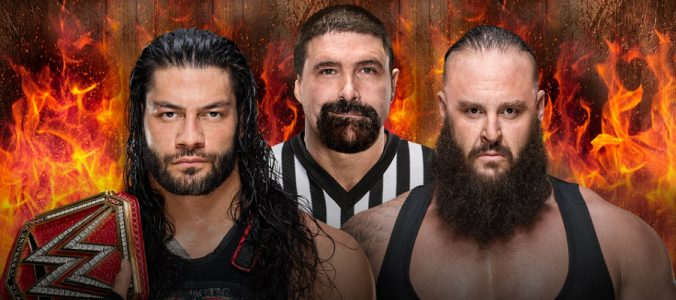 Hell in a Cell Roman Reigns vs. Braun Strowman