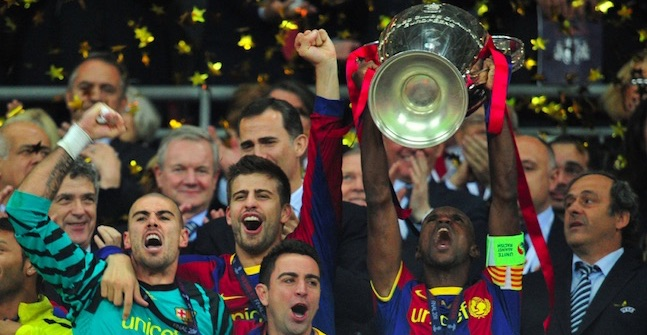 Barcelona 2011 Champions League