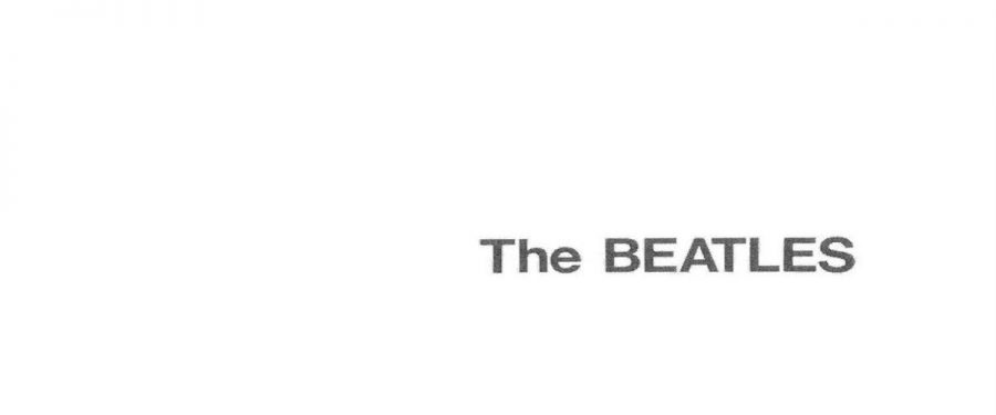 The Beatles White Album Banner