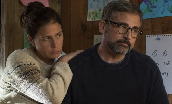 Beautiful Boy Maura Tierney and Steve Carell