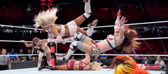 Royal Rumble 2019 Alicia Fox Kairi Sane