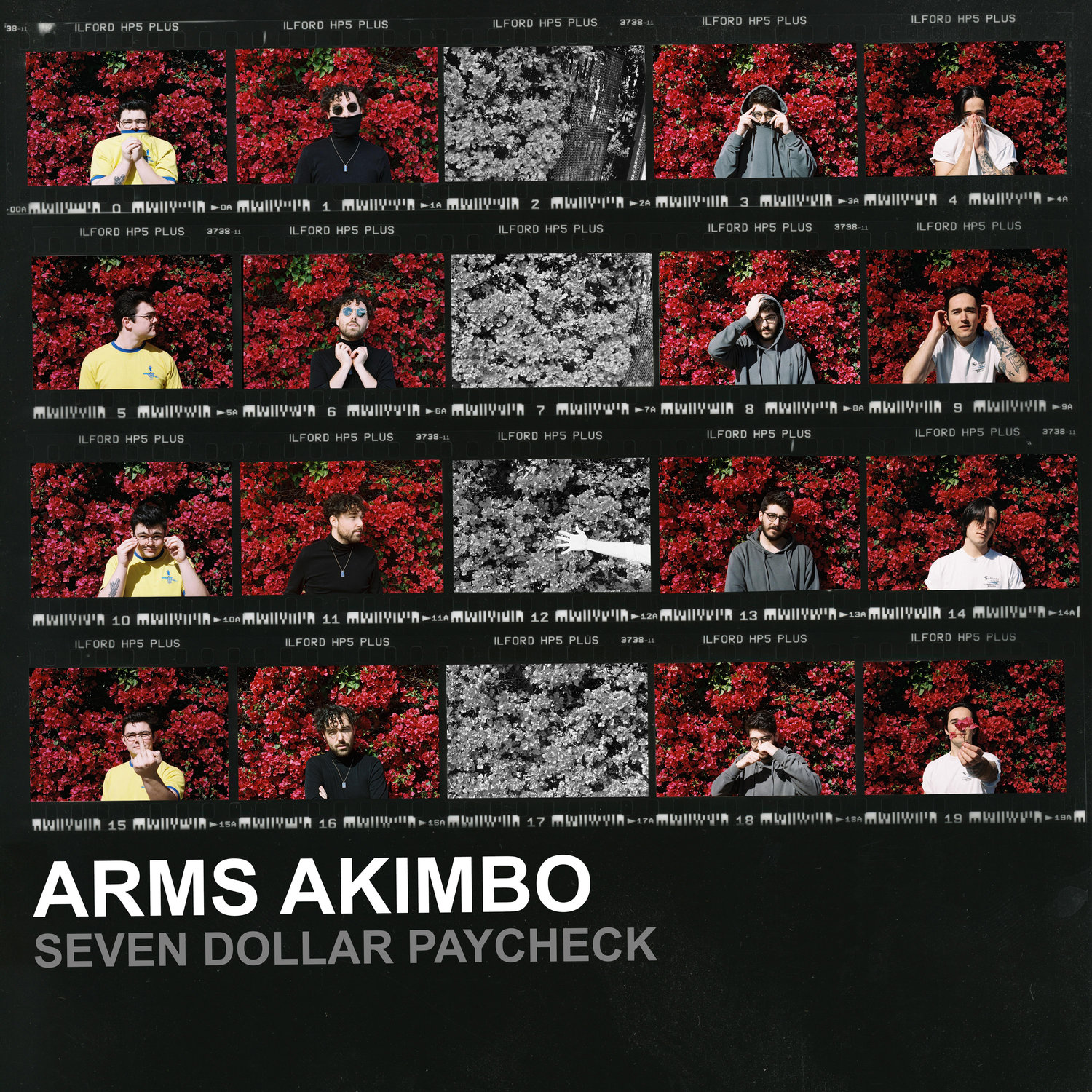 arms akimbo seven dollar paycheck album cover
