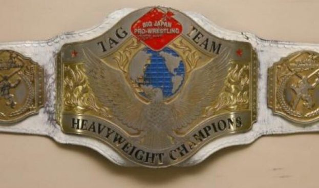 The BJW tag title
