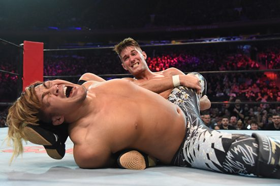 ZSJ has Tanahashi in knots