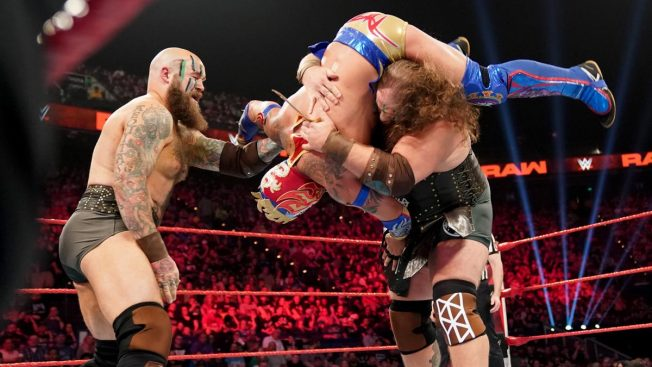 The Viking Raiders destroy Lucha House Party
