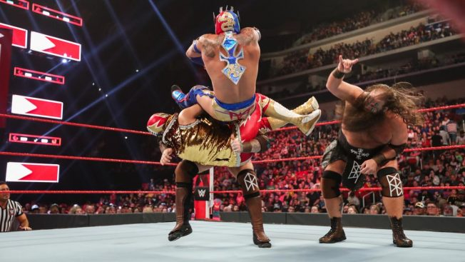 Viking Raiders destroy Lucha House Party