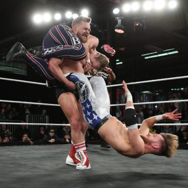 A ludicrous show of strength from Tyler Bate