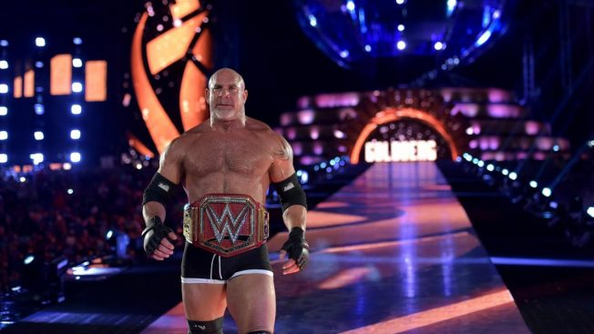 Goldberg's last appearance as Universal Champion