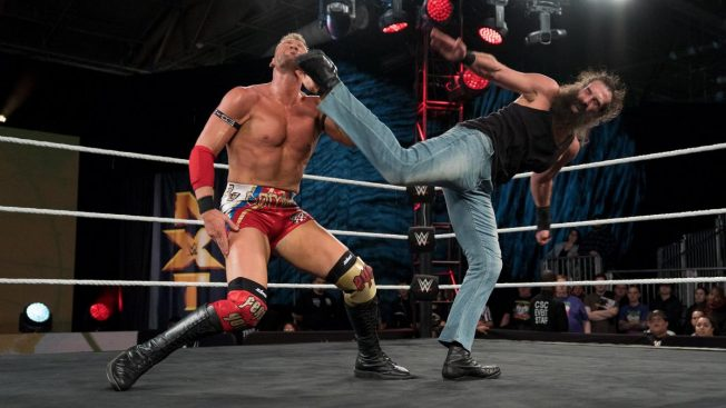 Haprer trying to superkick his contract