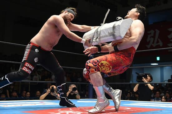 Yano meets his own turnbuckle pad