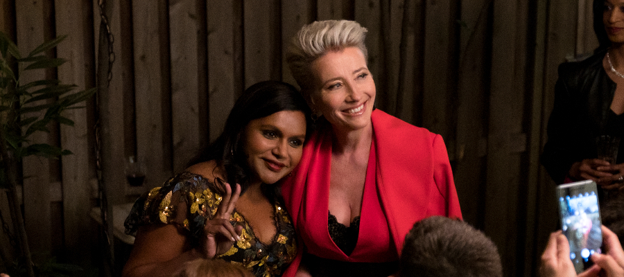 Late Night Mindy Kaling Emma Thompson