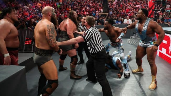 New Day, Viking Raiders, and Samoa Joe
