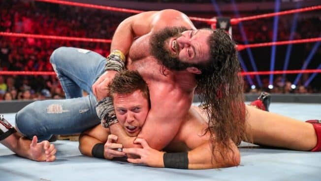 Elias controls The Miz