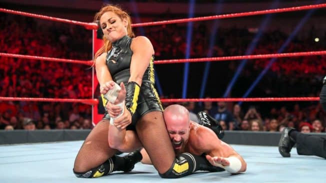Becky Lynch taps out Mike Kanellis