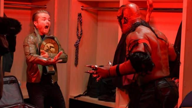 The Boogeyman scares Drake Maverick