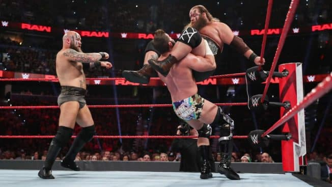 The Viking Raiders and Zack Ryder