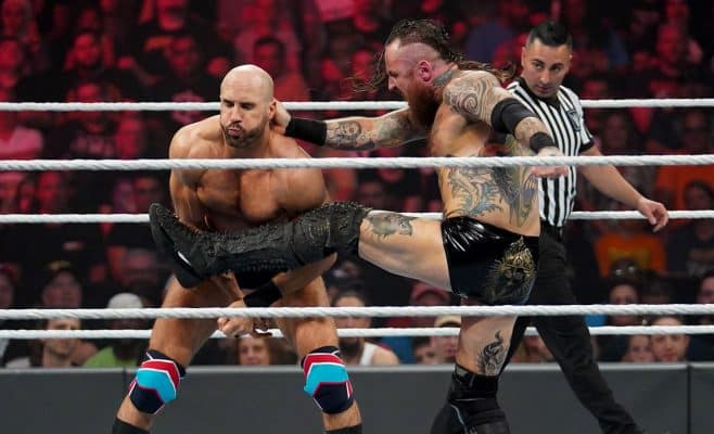 Extreme Rules 2019: Cesaro vs. Aleister Black